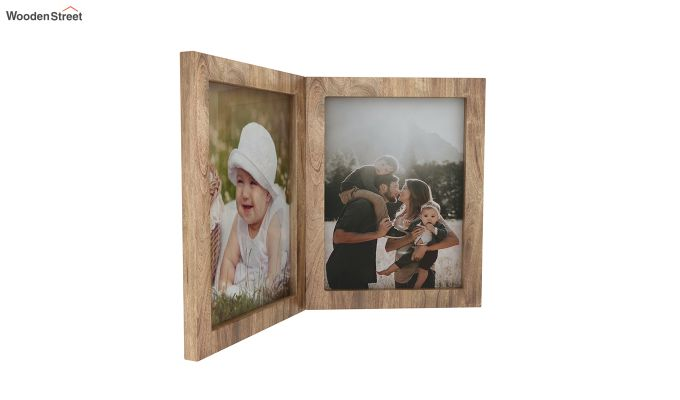 Delta Solid Wood Photo Frame (Natural Finish)-2