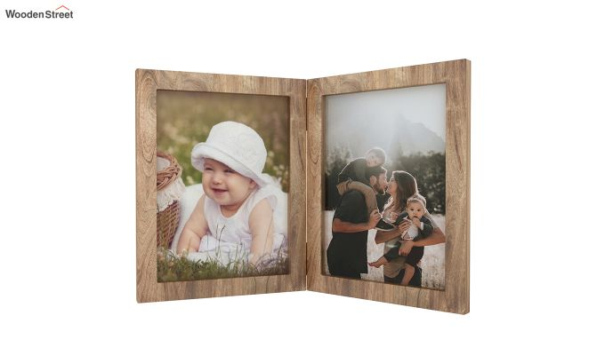 Delta Solid Wood Photo Frame (Natural Finish)-3