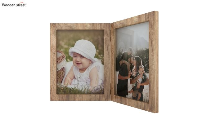 Delta Solid Wood Photo Frame (Natural Finish)-4