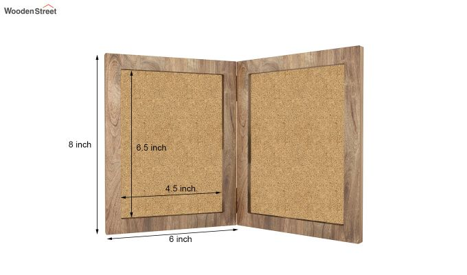 Delta Solid Wood Photo Frame (Natural Finish)-5