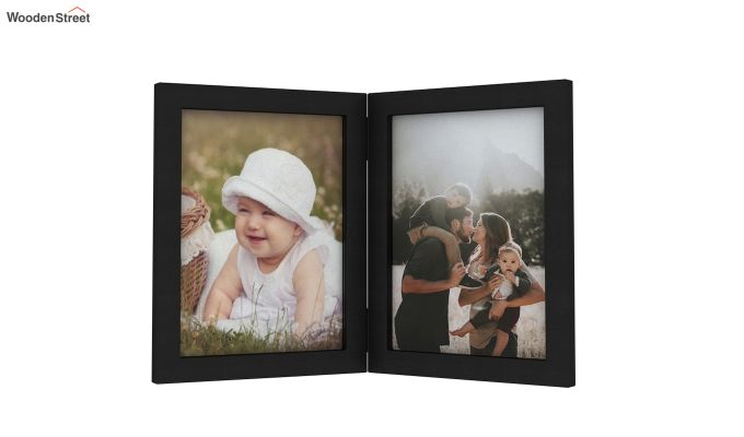 Delta Solid Wood Photo Frame (Black Finish)-2