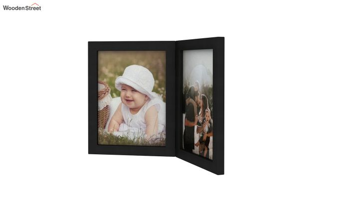 Delta Solid Wood Photo Frame (Black Finish)-4