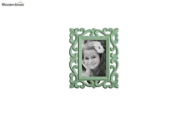 Distress Green Photo Frame-2