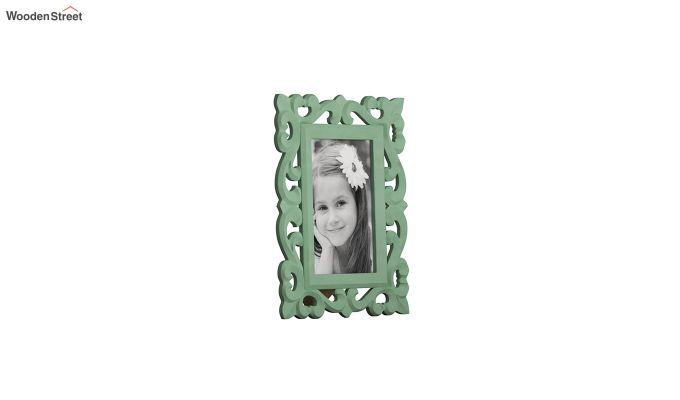 Distress Green Photo Frame-3
