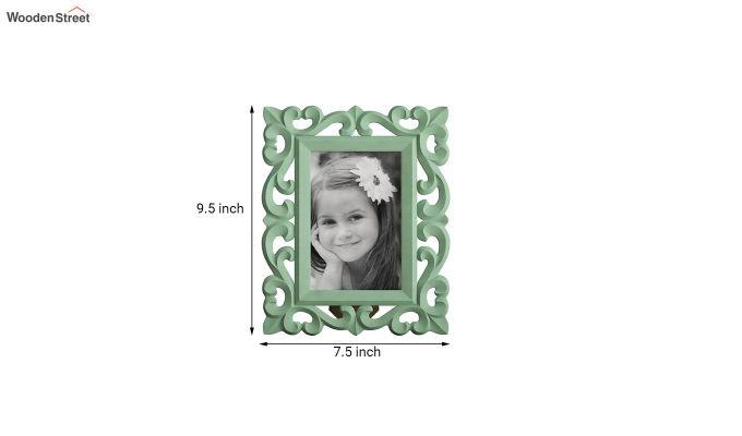 Distress Green Photo Frame-4