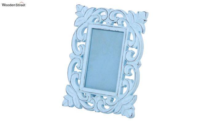 Faded Blue Photo Frame-2