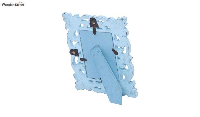 Faded Blue Photo Frame-4