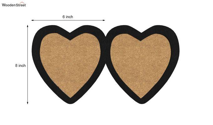 Heart Photo Frame (Black Finish) (Black Finish)-5