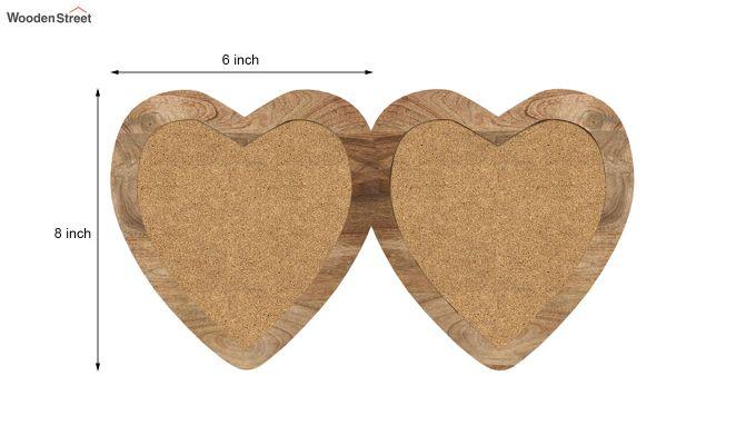 Heart Photo Frame (Natural Finish) (Natural Finish)-5
