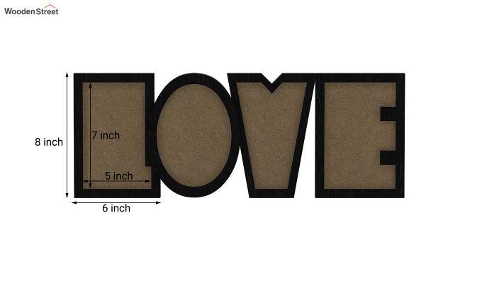 Love Photo Frame (Black Finish) (Black Finish)-5
