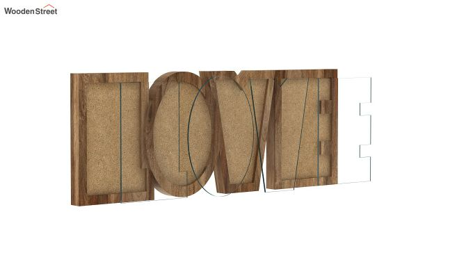 Love Photo Frame (Natural Finish) (Natural Finish)-3