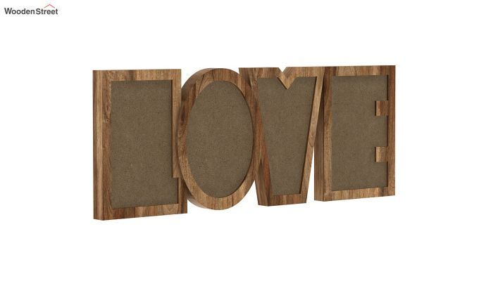 Love Photo Frame (Natural Finish) (Natural Finish)-4