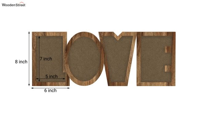 Love Photo Frame (Natural Finish) (Natural Finish)-5