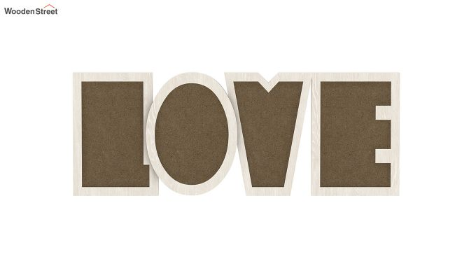Love Photo Frame (White Finish) (White Finish)-2