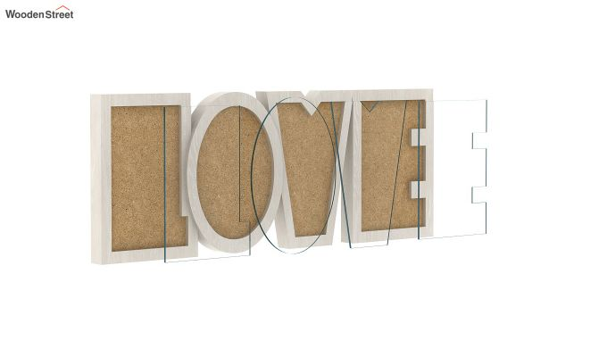 Love Photo Frame (White Finish) (White Finish)-3