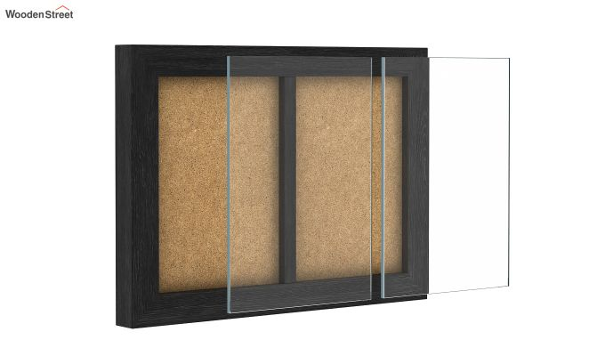 Oak Dual Photo Frame (Black Finish)-4