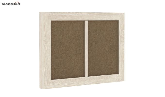 Oak Dual Photo Frame (White Finish)-2