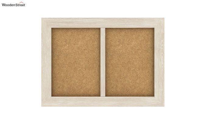 Oak Dual Photo Frame (White Finish)-3