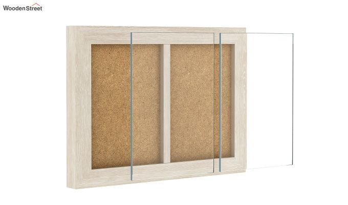Oak Dual Photo Frame (White Finish)-4