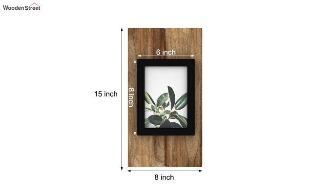 Ronald Photo Frame (Natural Finish)-4