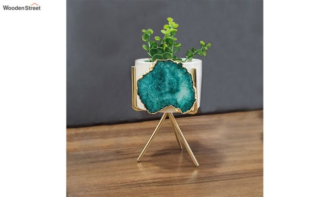 Agate Green Planter-1