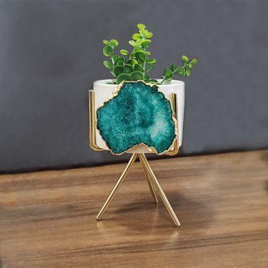 Agate Green Planter