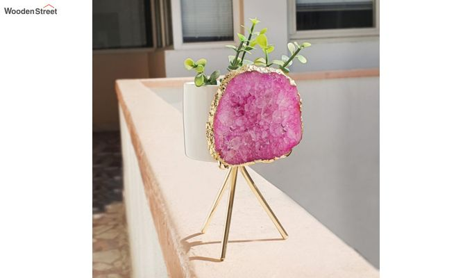 Agate Pink Planter-3