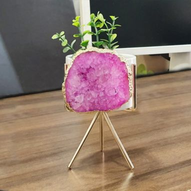 Agate Pink Planter