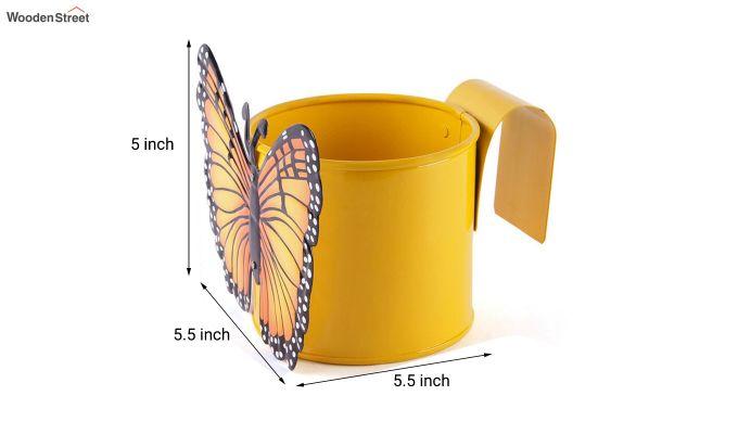 Butterfly Citrus Pot Planter-4