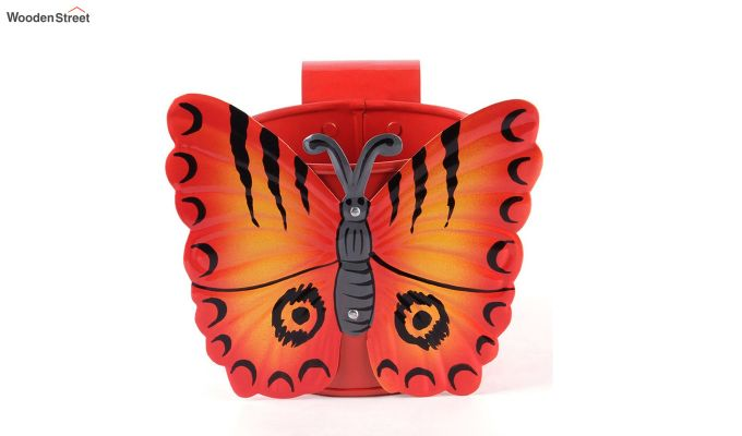 Butterfly Crimson Pot Planter-2