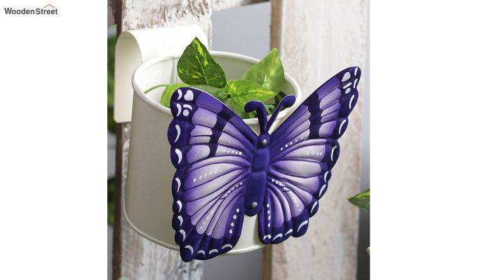 Butterfly Violet Pot Planter-1