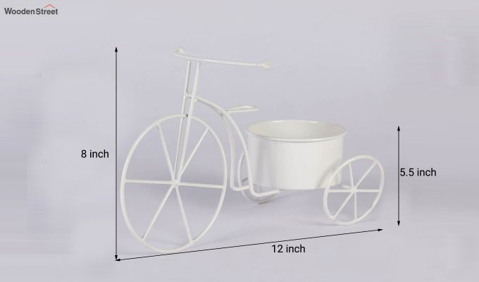 White Cyclo Planter-3