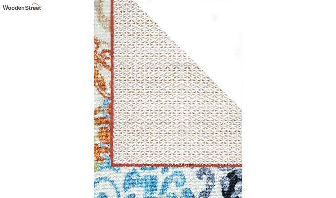 Vintage Polyester Bed Side Runner-6