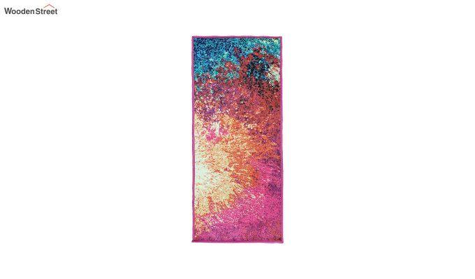 Abstract Multicolour Vintage Nylon Runner-4
