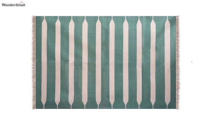 Keppel Kode Hand Woven Cotton Rug (Keppel Kode)-3