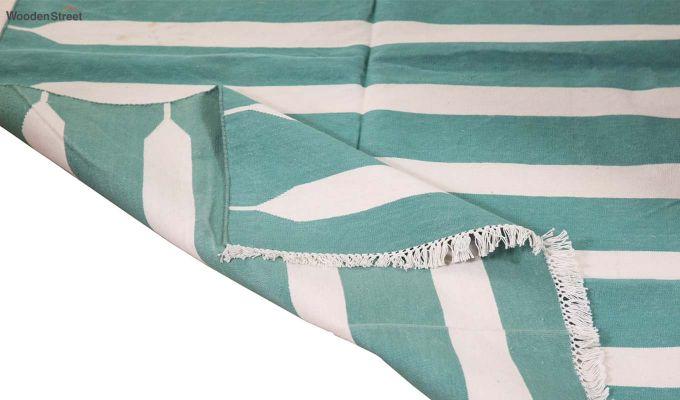 Keppel Kode Hand Woven Cotton Rug (Keppel Kode)-4