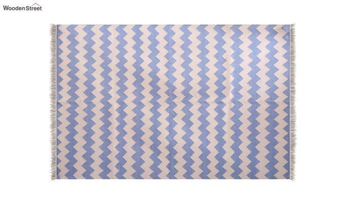 Sky Wander Hand Woven Cotton Rug (Sky Wander)-3