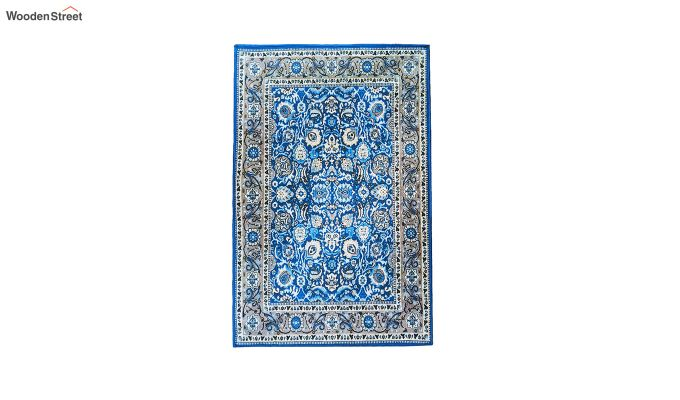 Contract Polyester Yarn 3D Printed Vintage Persian Carpet-5