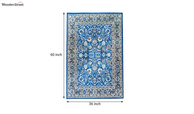 Contract Polyester Yarn 3D Printed Vintage Persian Carpet-6