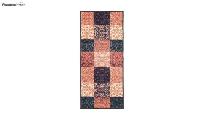 Multicolour Ethnic Pattern Polyester Bed Side Runner-7
