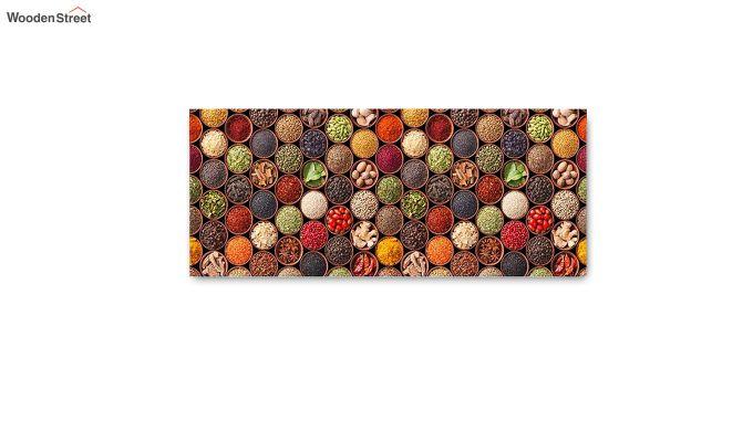 Red Abstract Pattern Nylon Floor Mat-5
