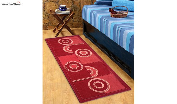 Red Nylon Bed Side Runner-1