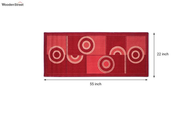 Red Nylon Bed Side Runner-4