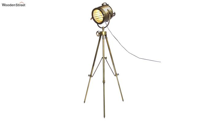 Beaker Metal Tripod Lamp by Grated Ginger-2