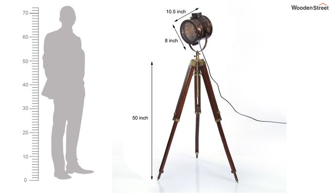 Corse Antique Tripod Lamp by Grated Ginger-6