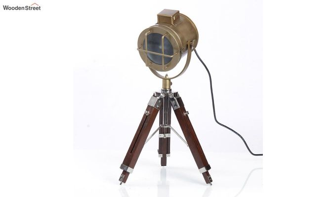 Corse Brass Tripod Lamp by Grated Ginger-2