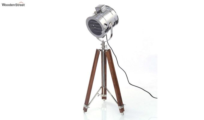 Corse Nickel Tripod Lamp by Grated Ginger-2