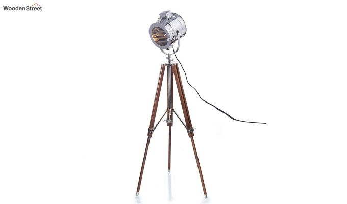 Corse Nickel Tripod Lamp by Grated Ginger-3