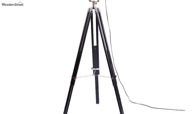 Discovery Black Tripod Lamp by Grated Ginger-3