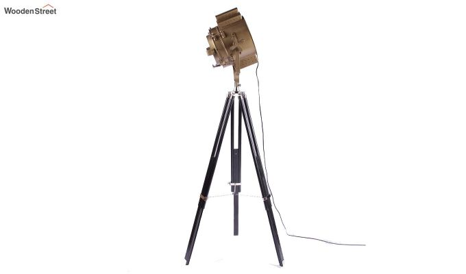 Discovery Black Tripod Lamp by Grated Ginger-5